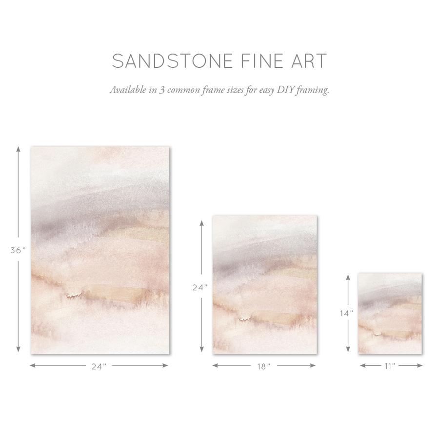 sandstone wall art three sizes