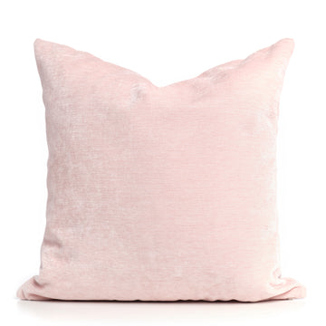 Velveteen Blush Pillow