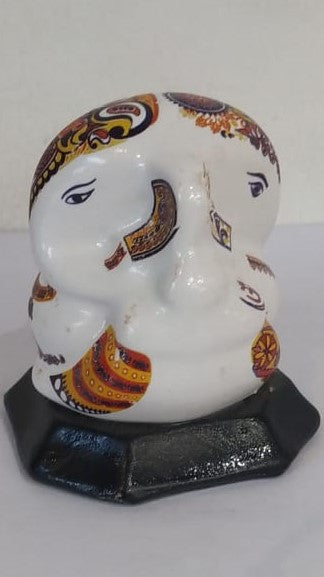 Culture Marble Two Side Ganish 2inch