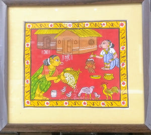 Cheriyal Painting in Frame