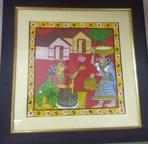 Cheriyal Paintings in frame