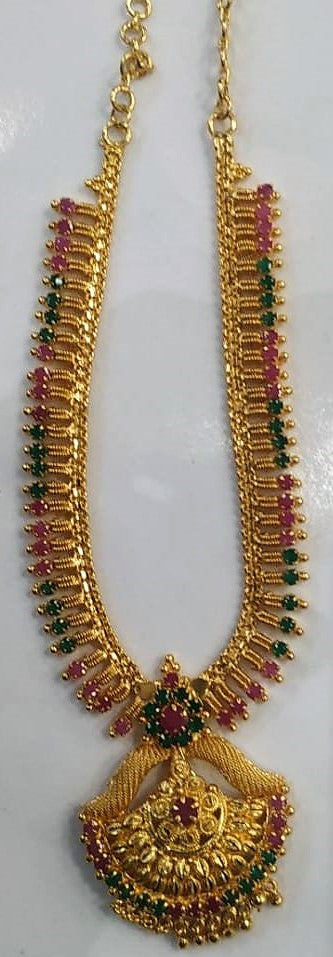 1 Gram Gold Plated Short Necklace