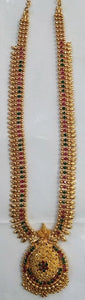 1 Gram Gold Plated Long Necklace