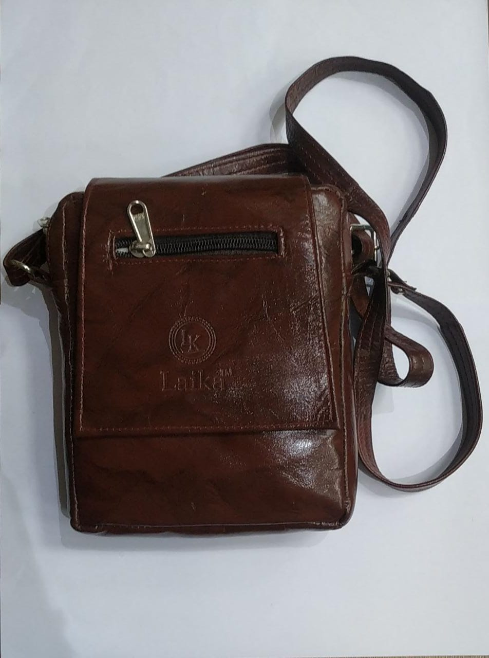 Leather Side Bag