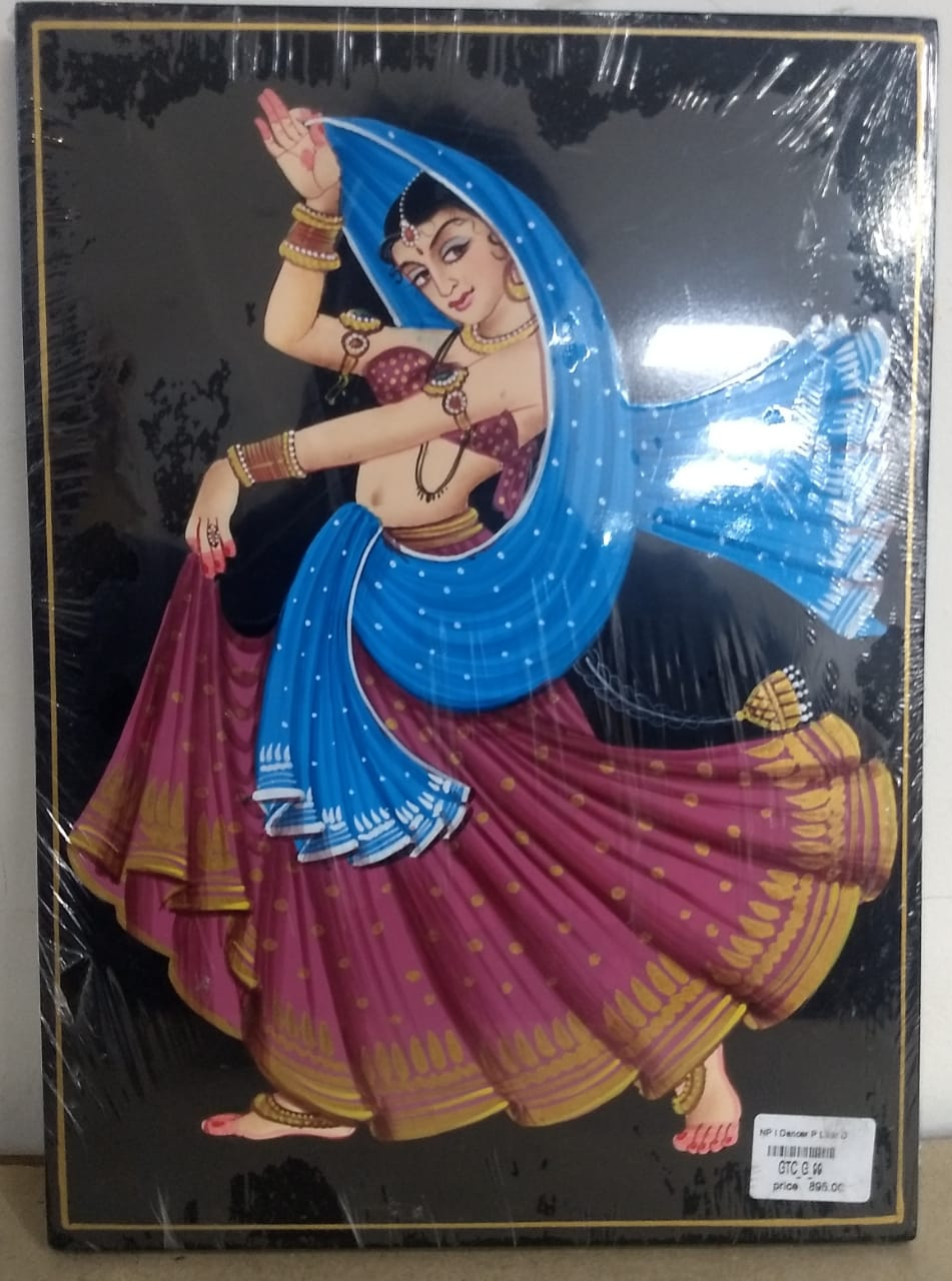 Nirmal Painting Lady Dancer 8x11inch