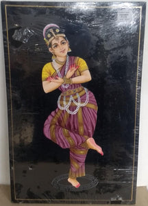 Nirmal Painting Indian Dancer 17x11inch