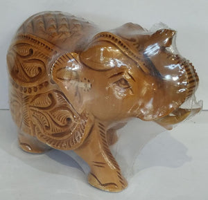 Wooden Carving Elephant 3inch