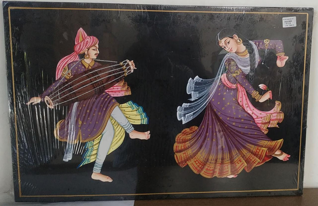 Nirmal Painting Drummer And Kamal Dancer 35x16