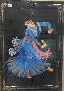 Nirmal Painting Kamal Dancer With Frame 19x26