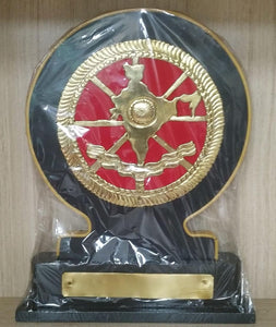 Pembarthi Brass Work India Momento 11x9inch