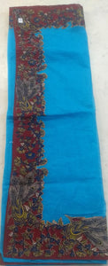 Kalamkari Patch Work Cotton Saree