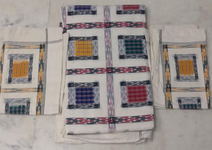 Pochampally Doubel Bedsheet With Pillow Covers