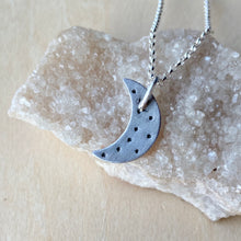 Load image into Gallery viewer, Tiny Moon Necklace