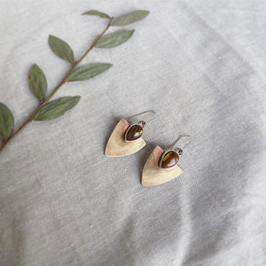 Arrow Earrings - Tigers Iron