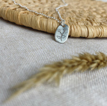 Load image into Gallery viewer, Calendula Charm Necklace - Silver