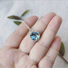 Load image into Gallery viewer, Abalone Necklace - Sterling Silver