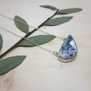 Forest Dweller Necklace - Dendritic Agate