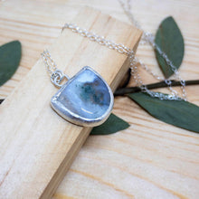 Load image into Gallery viewer, Forest Dweller Necklace - Moss Agate