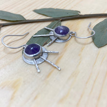 Load image into Gallery viewer, Amethyst Sunset Earrings