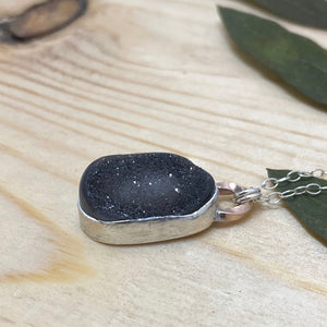 Druzy Necklace - Sterling Silver
