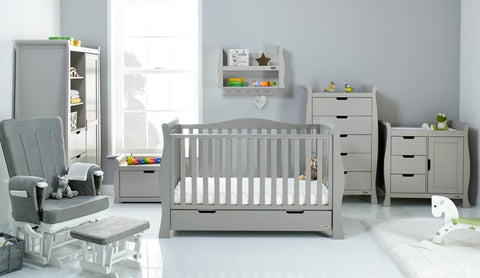 Obaby stamford luxe furniture for a nursery at Bambini and Bo the UK baby shop