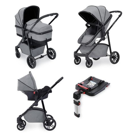 Ickle Bubba Moon Travel System With Galaxy Car Seat & Isofix Base