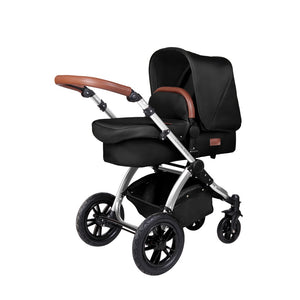 Stomp V4 2 In 1 Carrycot & Pushchair - Midnight / Chrome