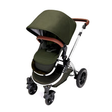 Load image into Gallery viewer, Stomp V4 2 In 1 Carrycot & Pushchair - Woodland / Chrome