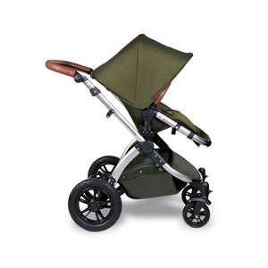 Ickle Bubba Stomp V4 Special Edition All in One Mercury I-Size Isofix Travel System - Chrome Chassis