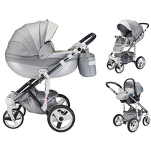 Load image into Gallery viewer, Milano Special Edition Travel System Package - Silver Charm