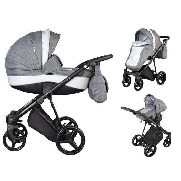 New Milano Travel System Package - Dove Grey