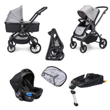 Load image into Gallery viewer, Plumo Travel System Package (incl. Car Seat & Isofix Base) - Ash Grey