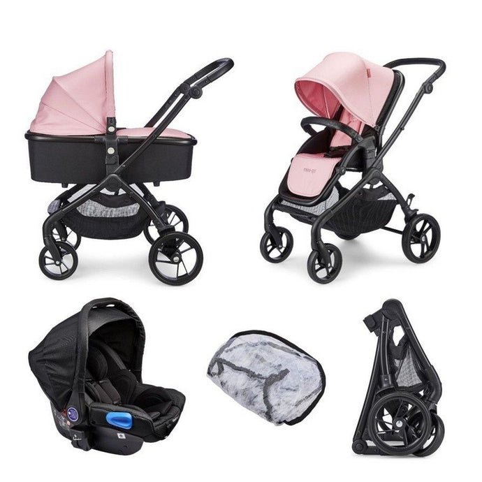 Plumo Travel System Package (incl. Car Seat) - Rose Pink