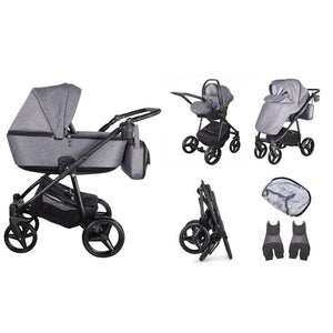 Santino Travel System Package - Graphite