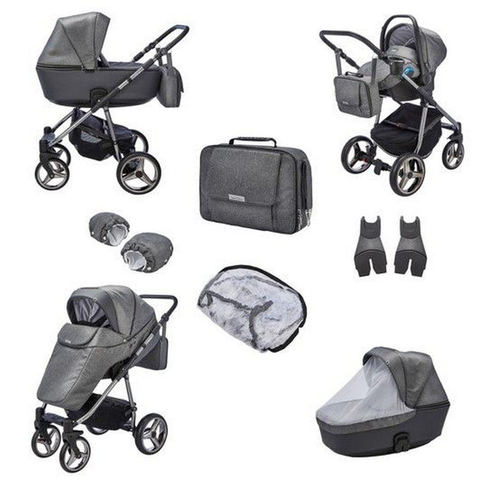 Santino Special Edition Travel System Package - Cloud