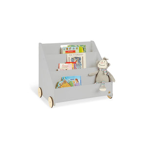 Pinolino Children's Bookcase On Wheels 'Lasse' - Grey