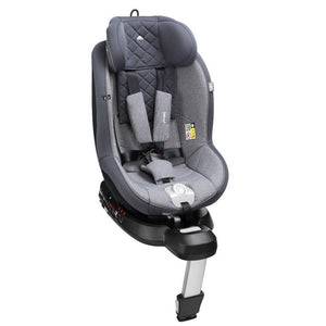 Mee-Go Swirl i-Size Car Seat - Pebble Grey