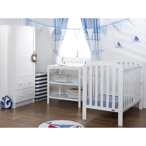Lily 3 Piece Room Set - White