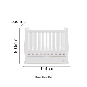 Stamford Space Saver 2 Piece Room Set - White