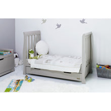 Load image into Gallery viewer, Stamford Mini Cot Bed - Warm Grey