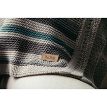 Load image into Gallery viewer, Tutti Bambini Cozee Knitted Blanket - Putty Stripes