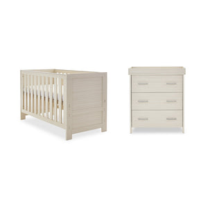 Obaby Nika 2 Piece Room Set - Oatmeal