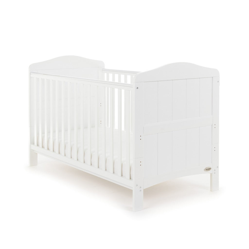 Whitby Cot Bed - White
