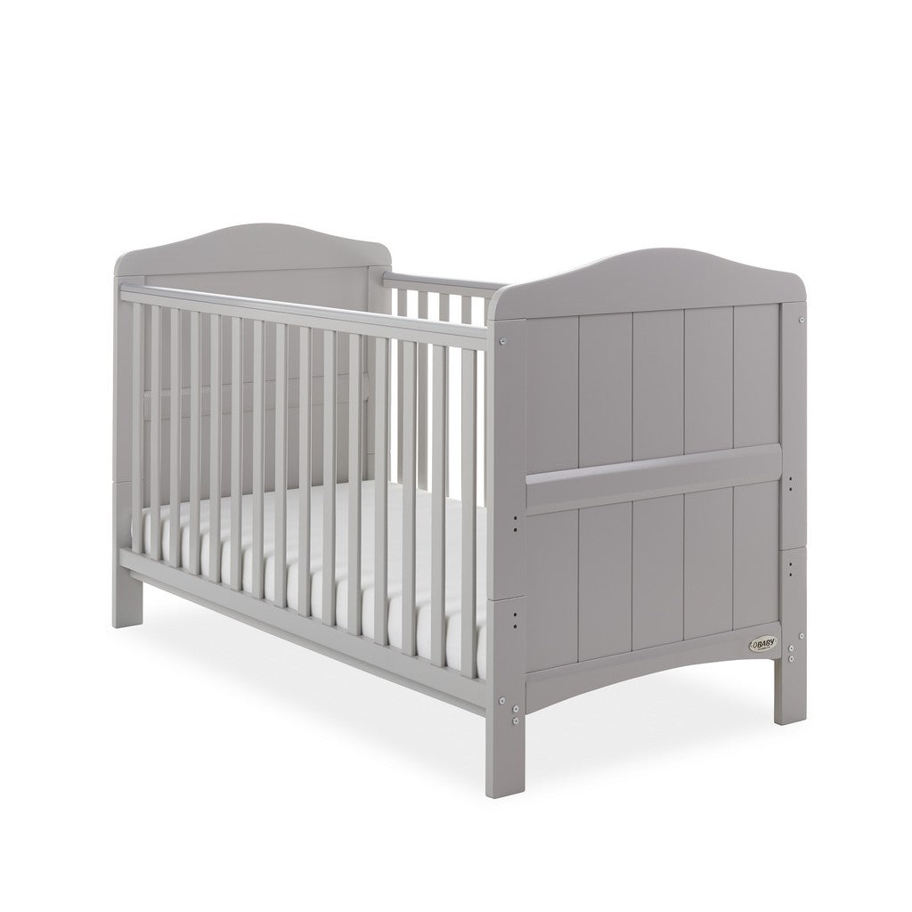 Whitby Cot Bed - Warm Grey