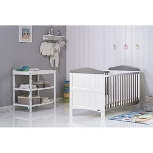 Whitby 2 Piece Room Set - White/Taupe Grey