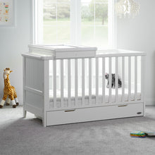 Load image into Gallery viewer, Obaby Belton 2 Piece Nursery Furniture Room Set - White