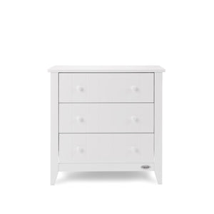 Obaby Belton 2 Piece Nursery Furniture Room Set - White