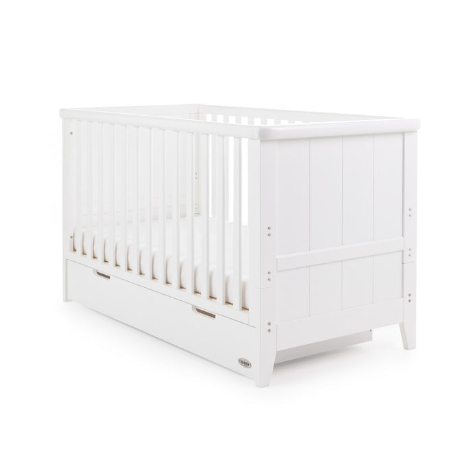 Obaby Belton Cot Bed - White