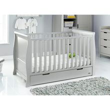 Load image into Gallery viewer, Stamford Classic Cot Bed - Warm Grey