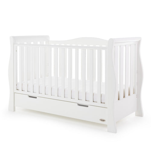 Stamford Luxe Cot Bed - White